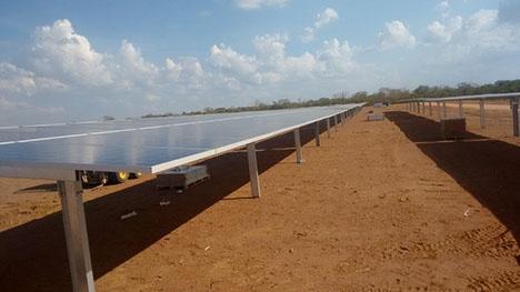 Atuação no seguimento fotovoltaico: