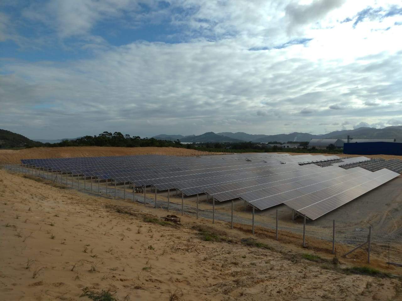 Nova planta de energia solar em Imbituba/SC