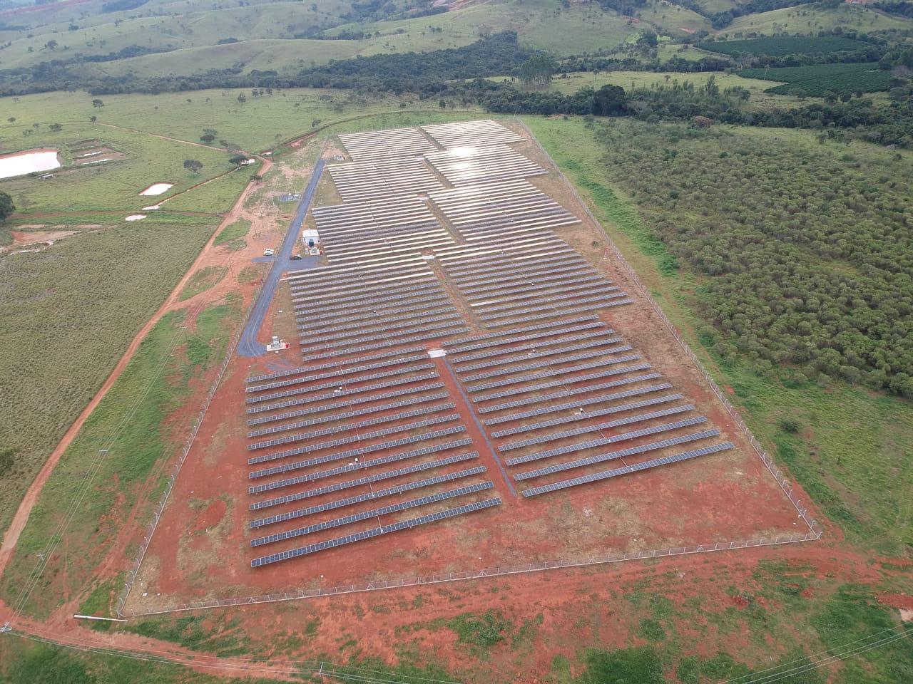 Obras de locação de energia em Minas Gerais