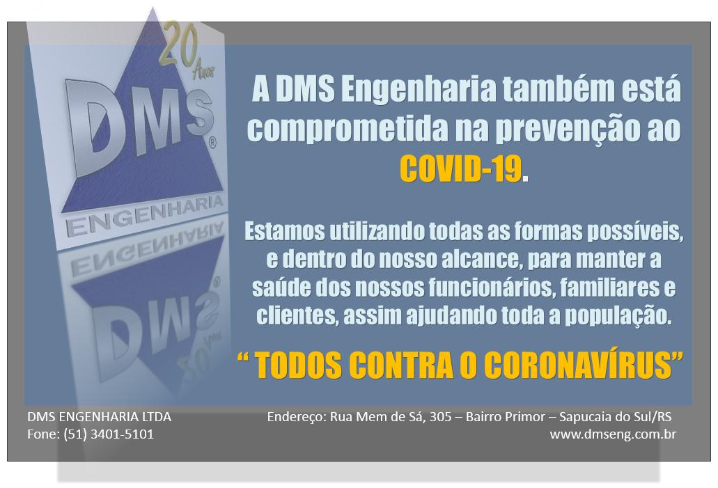 PREVENÇÃO AO COVID-19 - CORONAVÍRUS