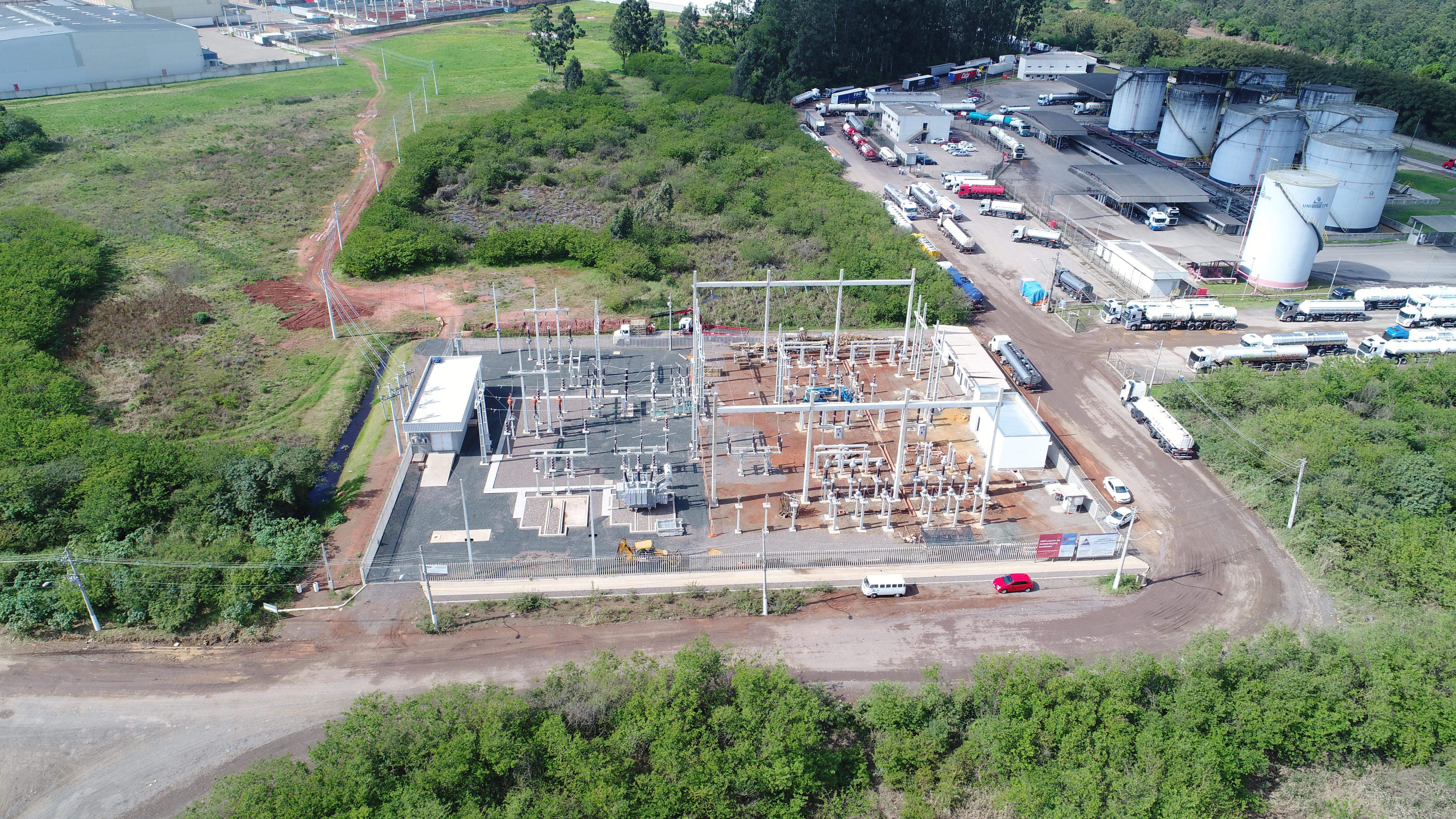 Construção de SE 138 KV Sanremo