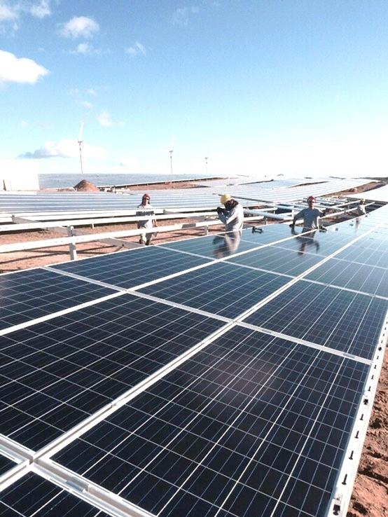 Novos projetos fotovoltaicos